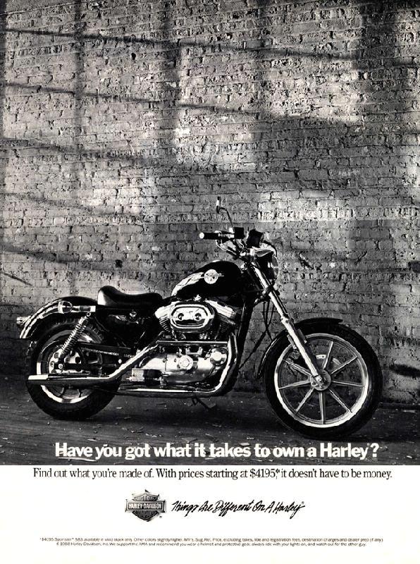 Harley Davidson Advertising: Advertising