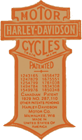 Harley Patented